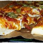 Pizza na grubym ciescie