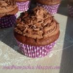 Mocno czekoladowe muffiny...