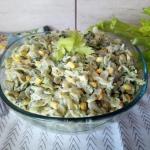Salatka z makaronem i bro...
