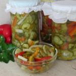 Salatka z ogorkow na 3 sp...
