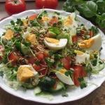 Salatka z jajkiem i kielk...