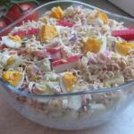Salatka z surimi