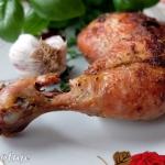 Kurczak mocno rumiany z n...