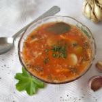 Aromatyczna zupa pomidoro...