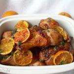 Kurczak pieczony z pomara...