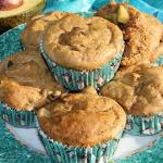 Bananowe muffinki z awoka...
