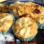 Żytnie muffiny serowe z...