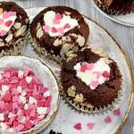 Walentynkowe muffinki z...