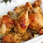 Maslany kurczak pieczony ...