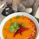 Egzotyczna zupa krem z ma...
