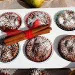 Czekoladowe muffiny z gru...