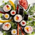 Sushi maki z papryką i...