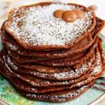 Najlepsze pancakes czekol...