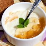 Pudding ryżowo-kokosowy...