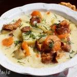 Zupa z kurek (kurkowa) z...
