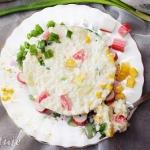 Salatka ryzowa z paluszka...