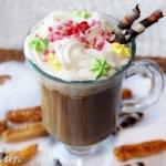 Wegańska kawa z napojem...