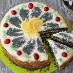 Tort z masy makowej (z...
