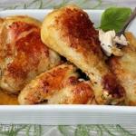 Pieczony kurczak z rosolu...