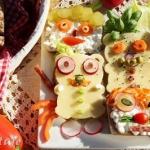 Wesole kanapki dla dzieci...