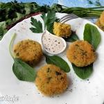 Kotleciki curry z kaszy b...