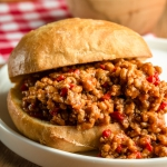 Kanapka Sloppy Joe (6...