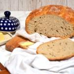 Prosty chleb pszenny na z...