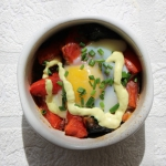 Jajko zapiekane z pomidor...