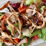 Salatka kebab gyros
