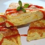 Tortilla z ziemniakami, c...