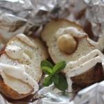Czosnkowy ziemniak