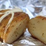 Grillowany ziemniak