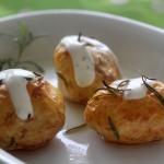 Mlode ziemniaki z rozmary...