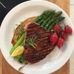 Tuńczyk w sosie barbecue