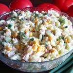 Salatka makaronowa ze szc...