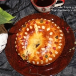Roscon de Reyes z marcepa...