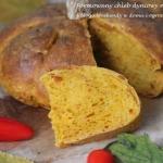 Formowany chleb dyniowy n...