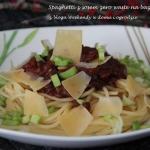 Spaghetti z sosem zero...