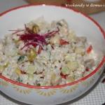 Ryzowa salatka ze sledzie...