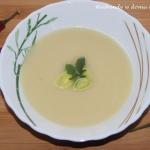 Zupa - krem z pora i ...