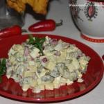 Salatka z pieczarek i  Ca...