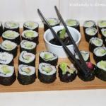 Roślinne sushi i  Był...