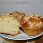 Drożdżowe muffinki z...
