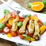 Szybka salatka z kurczaki...