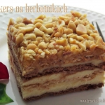 Ciasto snickers na herbat...