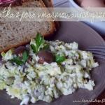 Salatka z pora i marynowa...