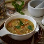 Zupa grzybowa z kaszą...