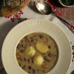 Zupa ze swiezych grzybow ...