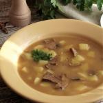 Zupa grzybowa – kuchnia...