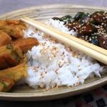 Obiad w stylu azjatyckim...